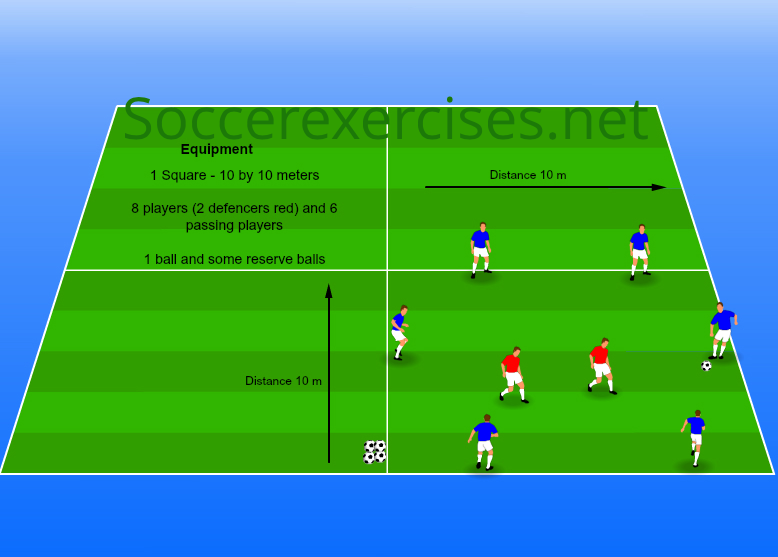 #05 6 vs 2 passing exercise