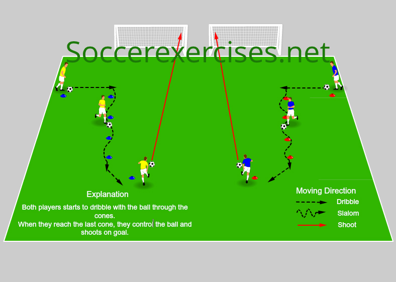 #18 Dribble and shoot