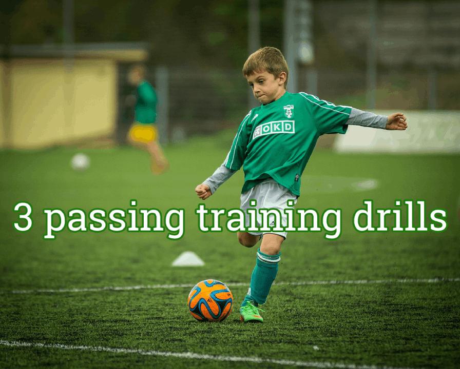 #22 – 3 Soccer passing  Drills