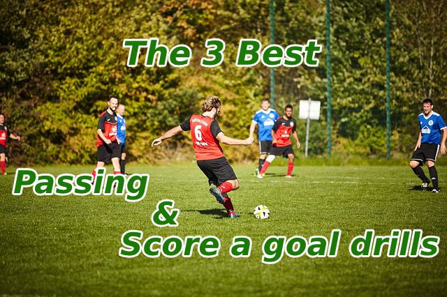 #42  3 passing & score a goal drills