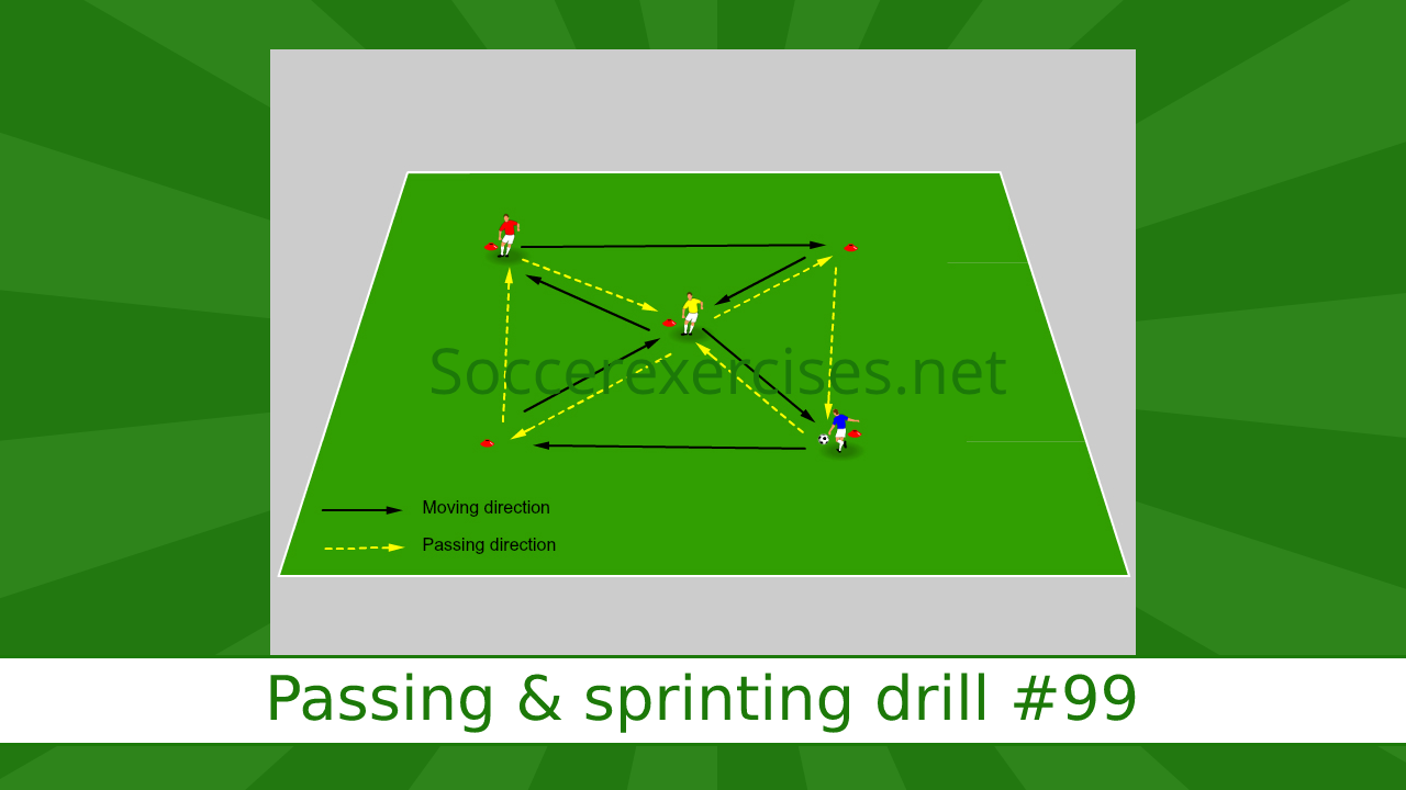 #99 Passing & Sprint drill