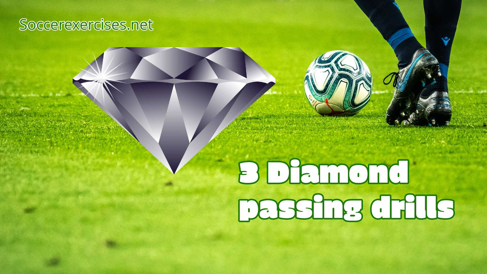 #113 3 diamond passing drills