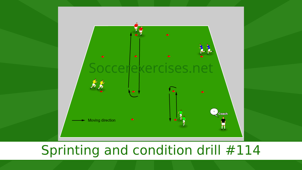 #114 Sprinting and condition drill