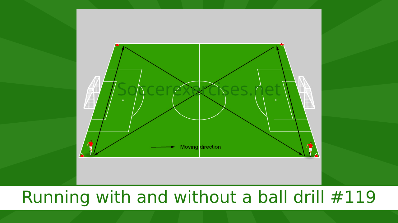 #119 Running with and without a ball drill