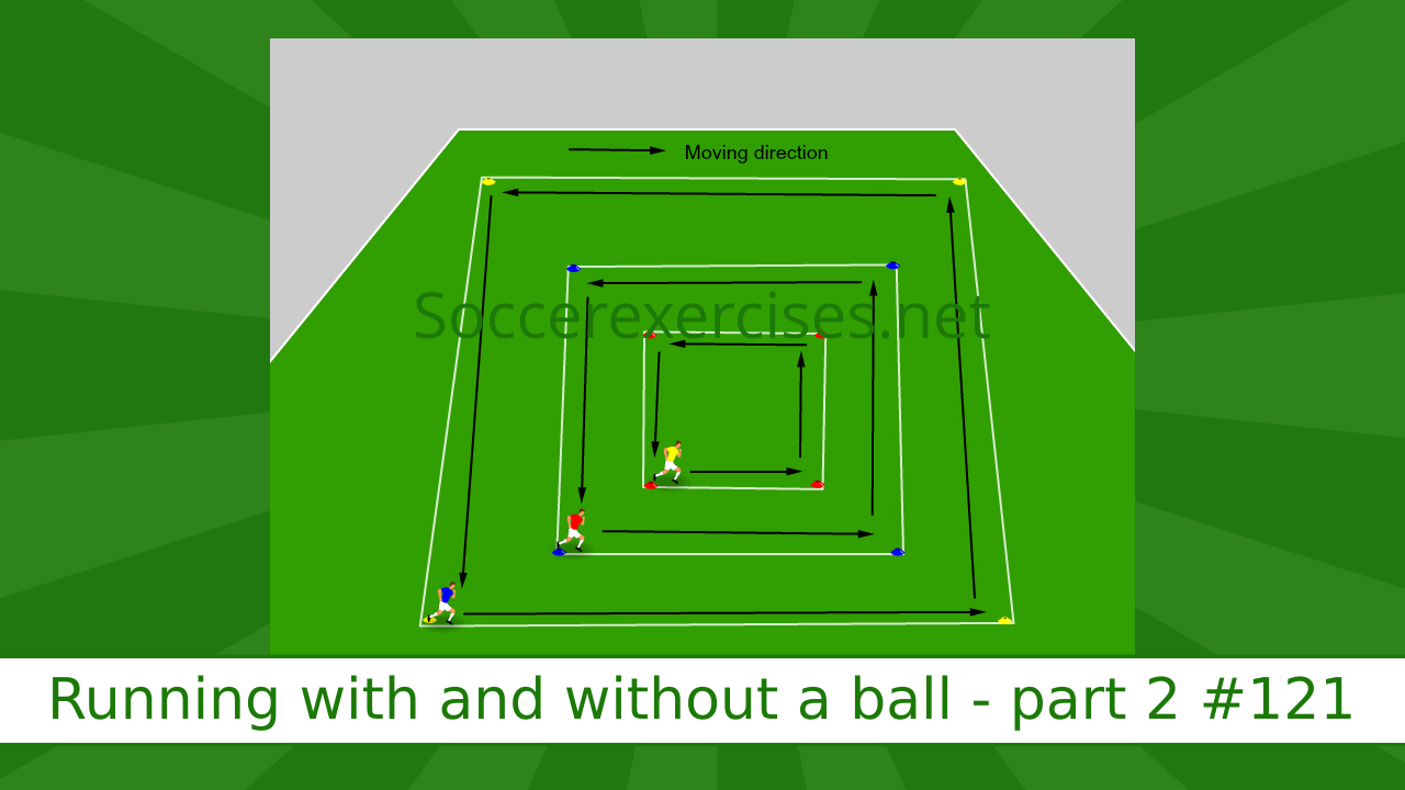 #121 Running with and without a ball drill – Part 2