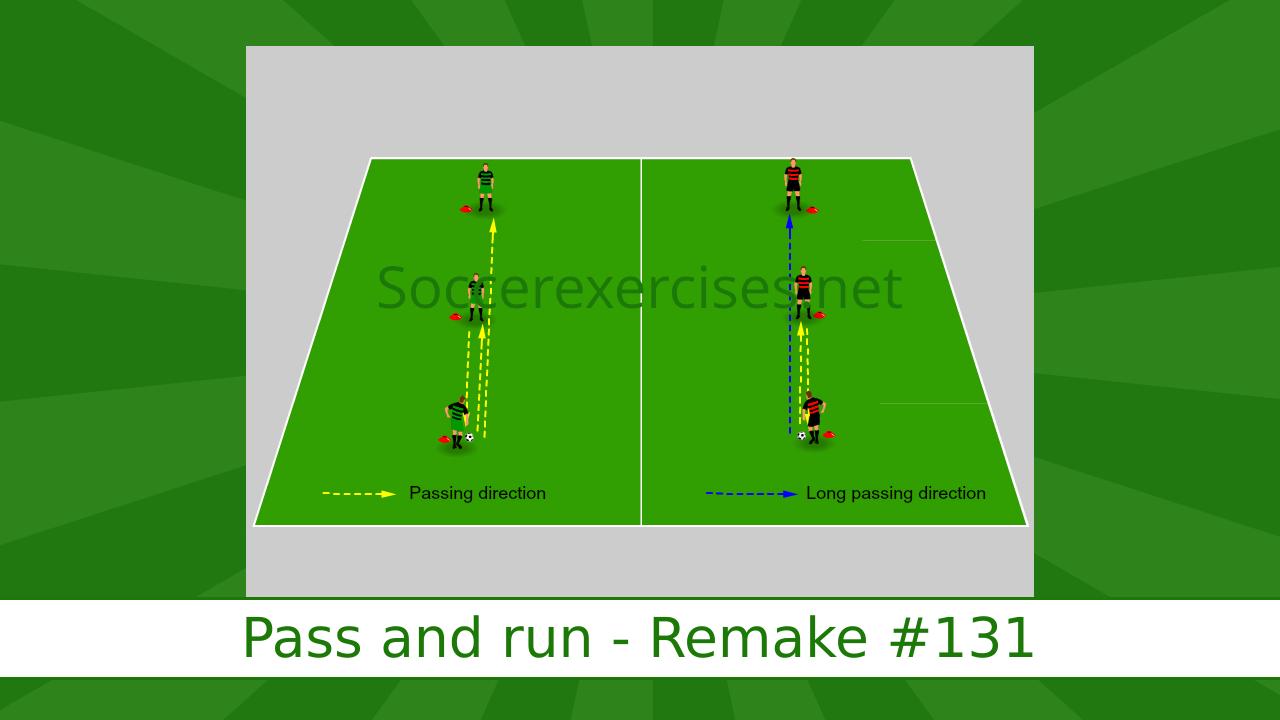 #131 Pass and run – Remake drill