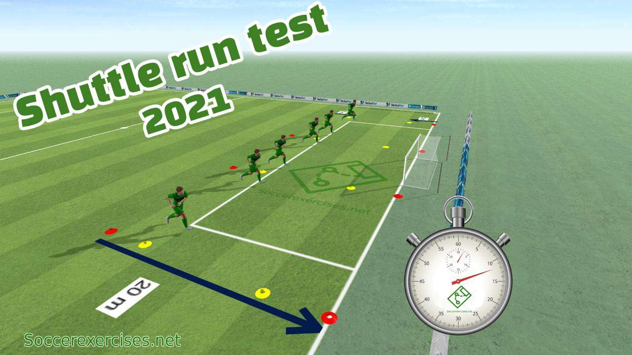 #135 Shuttle run / Beep test 2021 (Complete test with free mp3 download)