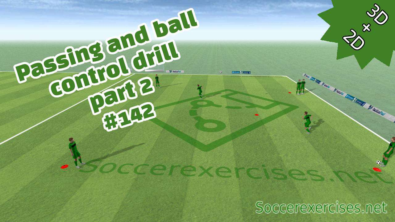 Passing and ball control drill - part 2